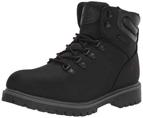 Lugz Women's Grotto II Fashion Boot, Black/Charcoal, 7 M US
