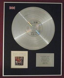 PAUL SIMON - Platinum Disc- GRACELAND