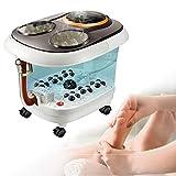 Fußbad Mit Sprudelbad Und 6 Automatisch Massage-Rad Fusssprudelbad Mit Fernbedienung Und...