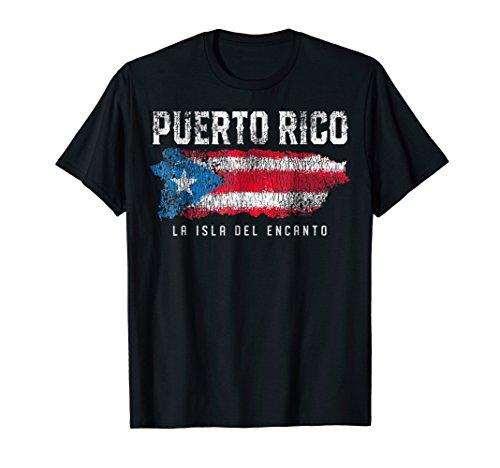 Puerto Rico - Island Flag T-Shirt