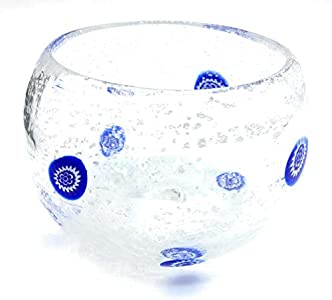 Bombonera Murano Collection Copa antigua Murrina Veneciana Cristal de Murano Made in Italy