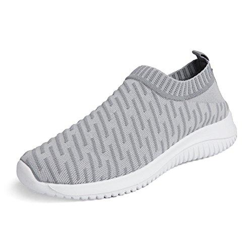 Zapatillas deportivas unisex, ligeras, transpirables, de estilo informal; para salir a caminar o ir a entrenar al gimnasio, color, talla 40 2/3 EU