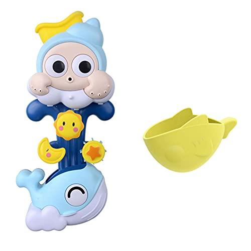 Bingdong Juguete de ducha en cascada dinámico bañera juguete con Sunction Cup...