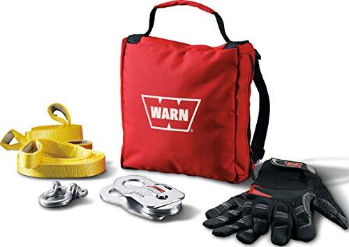 WARN 88915 Light-Duty Winch Accessory Kit , black