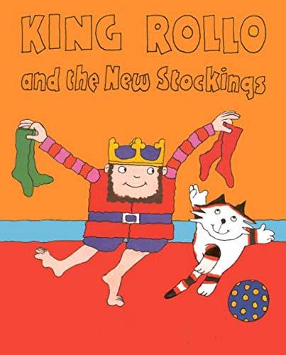 King Rollo and the New Stockings: Recommended puzzle picture book (English Edition)