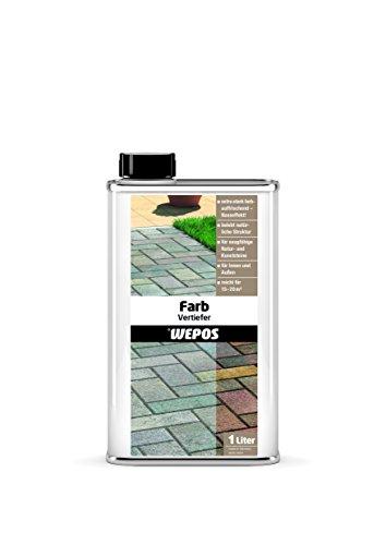 Wepos 2000202750 Farbvertiefer 1 Liter