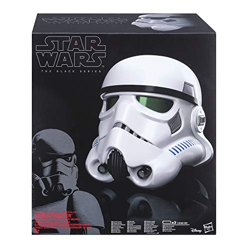 Hasbro B9738EU40 B9738EU4 - Star Wars Rogue One The Black Series Imperialer Stormtrooper Helm mit Stimmenverzerrer, Verkleidung
