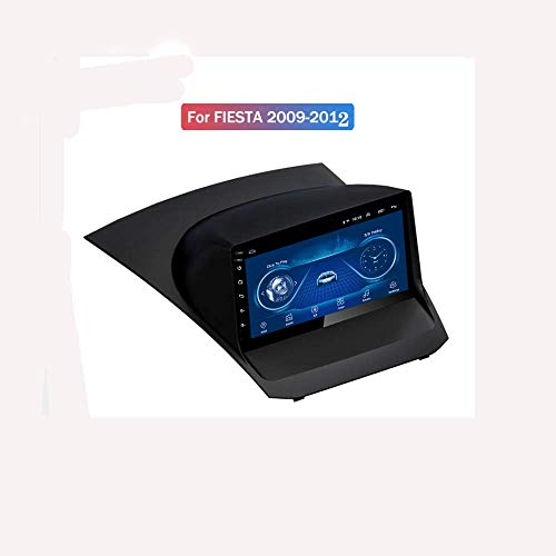 Hahaiyu Navigatore per Lettore Stereo MP5 Android 7.1 MP5 per autoradio per Ford Fiesta (2009-2012), GPS 2.5D Full Touch Screen, WiFi, BT, SWC, Mirror Link (2G + 32G)