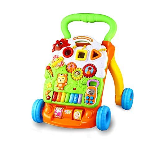 Marcheur pour Enfants 1-3 Ans Jouet pour bébé Marcheur pour Enfants Chariot de Marche à Apprentissage Multifonctionnel FANJIANI