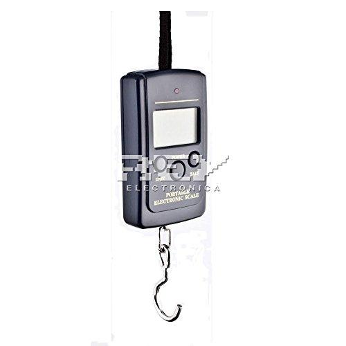 Báscula Digital de Precisión, Rango de Pesaje de 10g a 40 kg, Balanza Portátil para Maletas