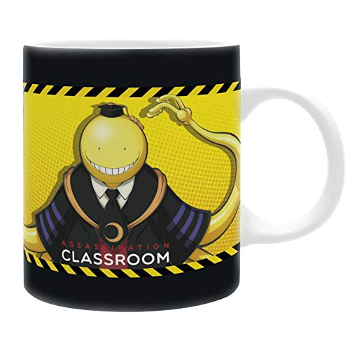ABYstyle -ASSASSINATION CLASSROOM - Taza - 320 ml - Koro VS alumnos