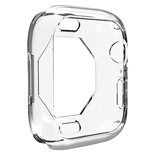 Bango Funda para Apple Watch Series 4, Protector Delgado, Suave, Delgada, de TPU, Resistente a los arañazos, Cubierta Protectora para Apple Watch Series 4