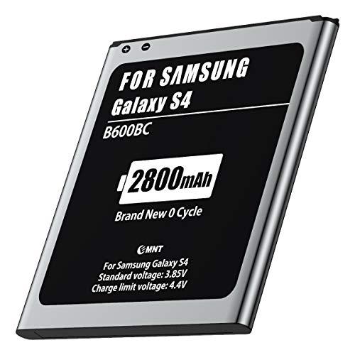 2800mAh Batteria per Samsung S4, MNT Batteria di ricambio Sostituzione Capacità migliorata, Ultima versione, tecnologia avanzata e materiali di alta qualità (SENZA NFC)