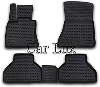 Kit Alfombras Alfombrillas de goma a medida y alfombra maletero para X5 E70 desde 2007 Car Lux AR95638