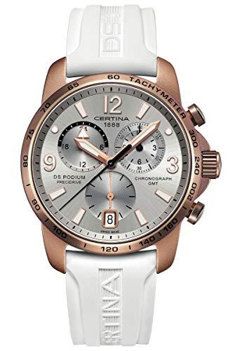 Certina DS Podium GMT Aluminium C001.639.97.037.01 Cronografo donna Cassa...
