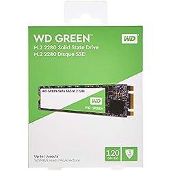 Western Digital WD Green Interna SSD M.2 SATA, Verde, 120 GB