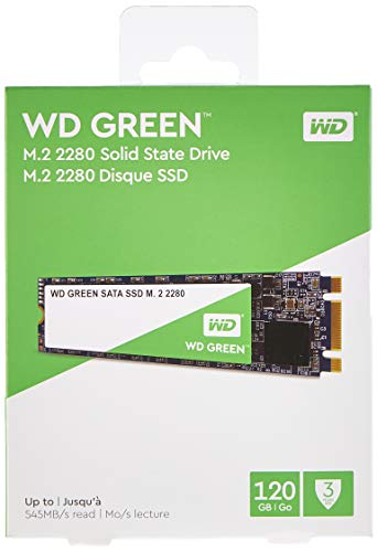 Western Digital WD Green - Internal SSD M.2 SATA, 120 GB - WDS120G2G0B