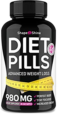 Premium Diet Pills - Weight Loss Supplements for Women - Garcinia Cambogia Extract - Fat Burners for Adults - Carb Blocker Appetite Suppressant