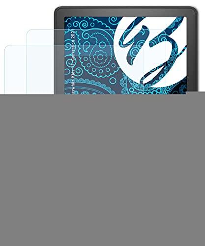 Bruni Beschermfolie compatibel met Amazn Kindl Paperwhite Kids 11. Generation 2021 Folie, zonneklaar Schermfolie (2X)