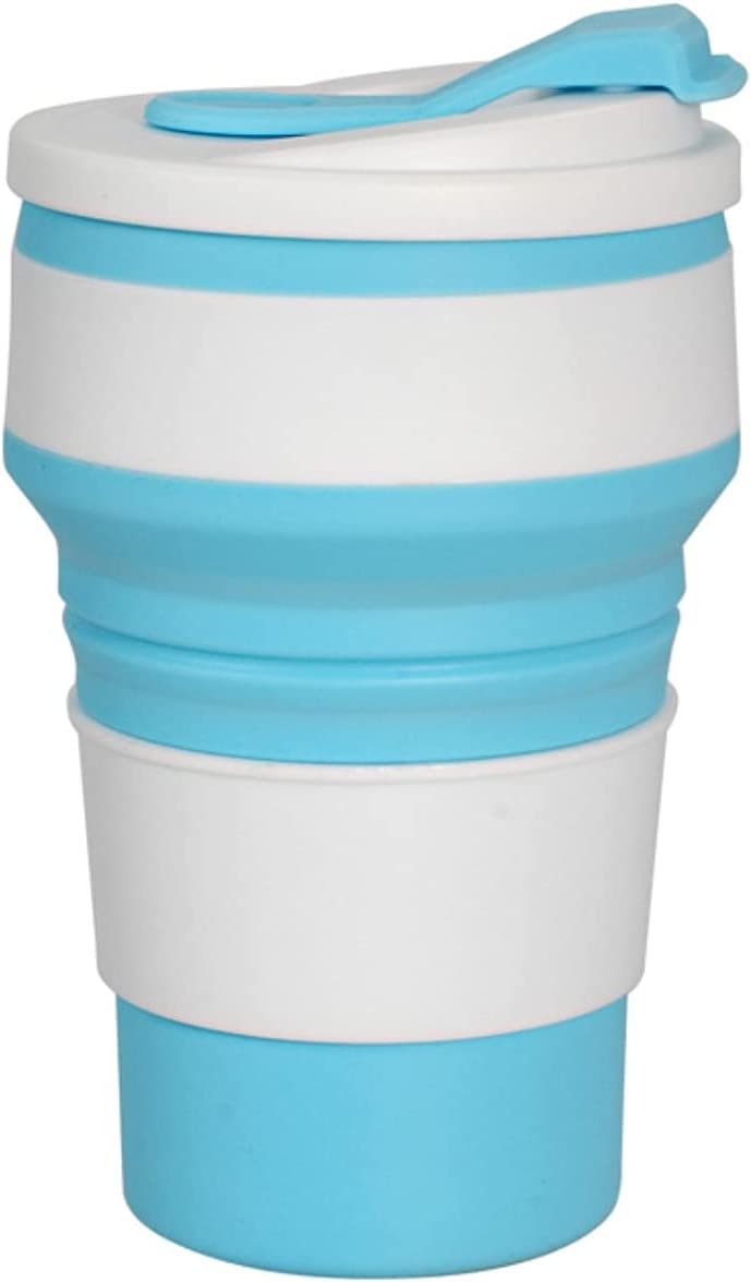 SKYXINGMAI Collapsible Cup OFFicial mail order Silicone Mug bottle Folding 100% quality warranty Sport