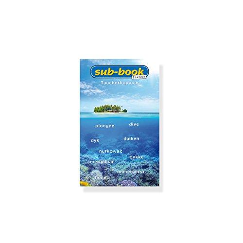 sub-book Taucherlogbuch COMFORT