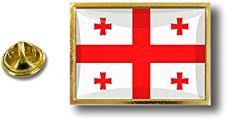 Spilla Pin pin's Spille spilletta Giacca Bandiera Distintivo Badge Georgia