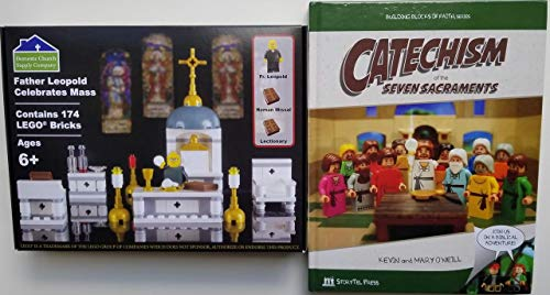 Domestic Church Supply Company Father Leopold Celebrates Mass and Catechism of The Seven Sacraments Gift Set