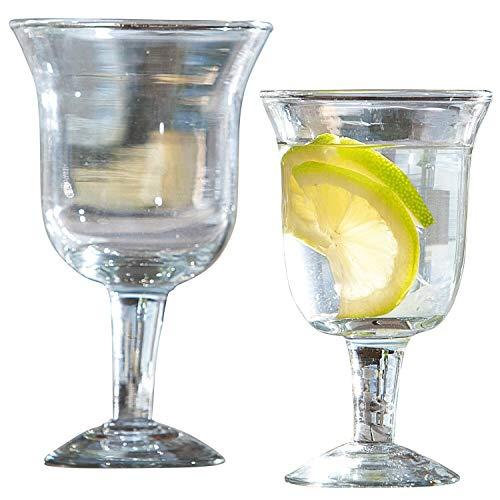Loberon Gläser 12er Set Antrim, Glas, H/B/T ca. 16/9 / 9 cm, klar