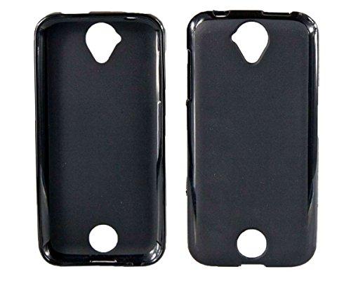 caseroxx TPU-Hülle für Acer Liquid Z530 / Z530S, Handy Hülle Tasche (TPU-Hülle in schwarz-transparent)
