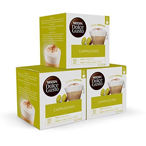 Nescafé DOLCE GUSTO Magnum Café CAPPUCCINO - Cápsulas de Café - 3 x 30 - 90 Cápsulas