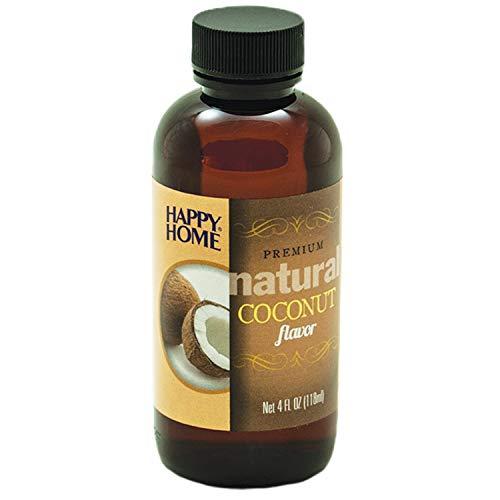Happy Home Premium Natural Coconut Flavor - Certified Kosher, 4 oz.