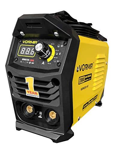 VORMIR Inverter ARC Welding Machine (IGBT) 200A with Hot Start, Anti-Stick Functions- 1 Year Warranty