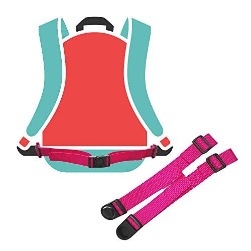 GURTIES® Hüftgurt Beckengurt Bauchgurt Hip Belt (pink, 90 x 2,5 cm)