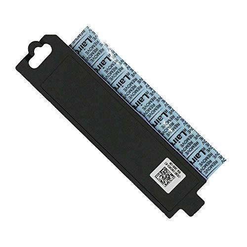 M.2 2280 SSD Heatsink Bracket Caddy Compatible with Dell Alienware Area 51m R1, Alienware 15&17 R3 R4, Dell G5 5587, G7 7588 Series Laptop P/N: 0JV98R JV98R 03N3W3 3N3W3