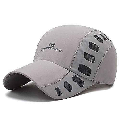 Clape Cappy Running Cap Mesh Sonnenschutz Kappe Outdoor Kappen UPF50 + Sport Kappe Golf Tennis Cap