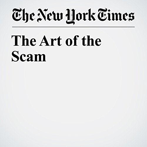 The Art of the Scam copertina