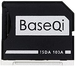 Bosvision Aluminio Micro SD Adaptador con la Plata Borde para MacBook Air 13
