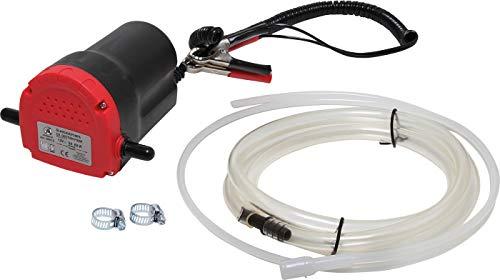 Kraftmann 99910 | Öl-Absaugpumpe | 12 V | für KFZ-Ölwechsel / Motoröl-Wechsel