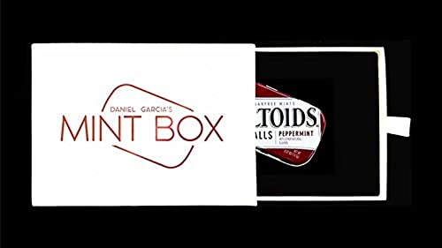 SOLOMAGIA Mint Box (Gimmick and Online Instructions) by Daniel Garcia - Stage Magic - Tours et Magie Magique - Magic Tricks and Props