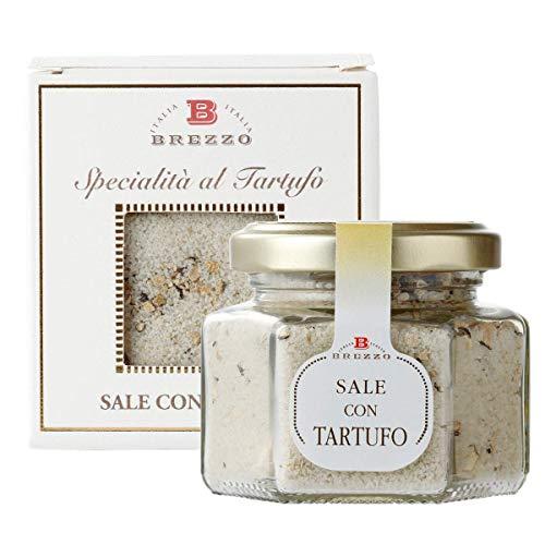 Schwarzes Trüffel-Salz in einer eleganten Box Ideal für ein Geschenk | 80g