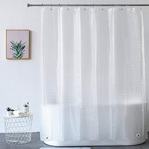 cortinas de baño transparentes