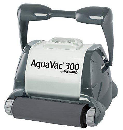 Aquavac Hayward 300 Digital con Spazzole in Spugna - Robot Elettrico Pulitore per Piscina fino a 12 mt per Mosaico & Piastrelle