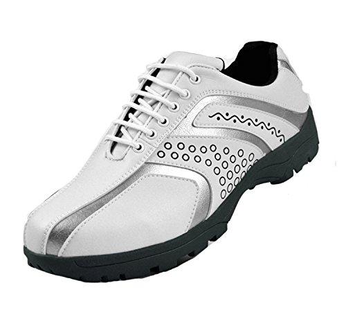 Golf Schoenen voor Heren Waterdicht Spikeless