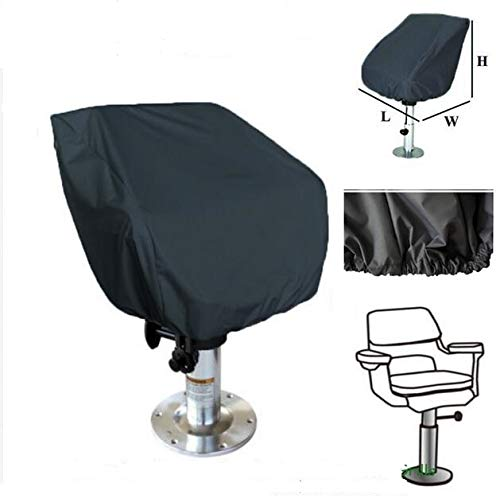 FENGTAIKE Waterproof Outdoor Stacking Chair Cover Garden Parkland Boat Seat Cover Barber Chair Patio Chairs Furniture