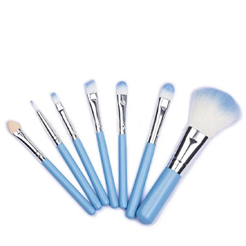 OverDose 7Pcs Make-up Pinsel Set Powder Foundation Lidschatten Eyeliner Lip Kosmetik Pinsel