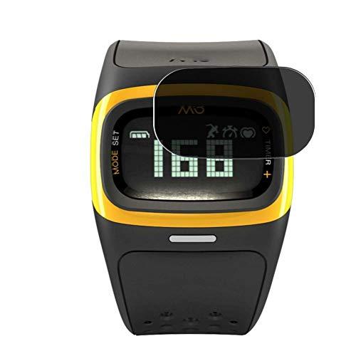 Vaxson Protector de Pantalla de Privacidad, compatible con Mio Alpha 2 smartwatch Smart Watch [no vidrio templado] TPU Película Protectora Anti Espía