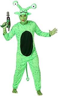Atosa-15677 Disfraz Alien, color verde, M-L (15677)