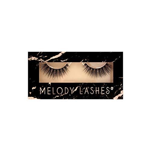 Melody Lashes Natürlich Fluff 3D Wimpern Erstaunlich für Anfänger und Profi-Makeup Artist, 3D Eyelashes Augen-Make-up, handgemachte künstliche Wimpern