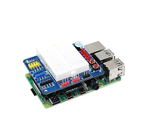 sb components BreadPi Mehrzweck-Hut für Raspberry Pi 4, 3B+, 3, 2, Zero und Zero W, Raspberry Pi Erweiterungsplatine für digitale und analoge I/O-Hersteller