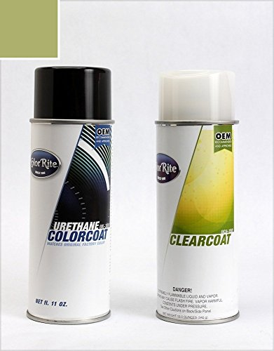 ColorRite Aerosol Automotive Touch-up Paint for Toyota Sienna - Cypress Pearl Clearcoat 6T7 - Color+Clearcoat Package